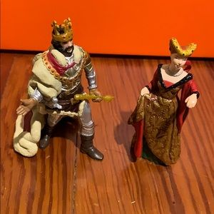 Other - Papo 2008 King and Queen collectibles